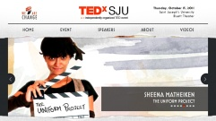 TEDxSJU website