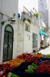 Fruit Vendor in Capri