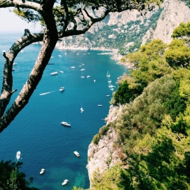 View from the Isle of Capri