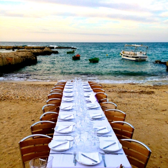 Seaside Table, Puglia