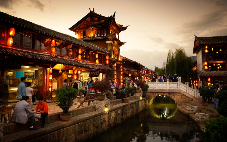 Evening in Lijiang